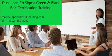 Dual Lean Six Sigma Green & Black Belt Training in Grand Forks, ND tickets