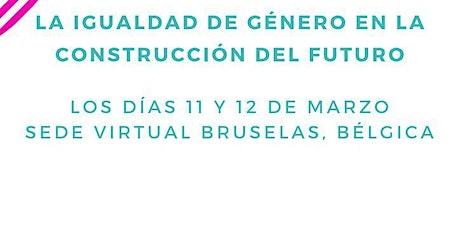 Encuentro: La igualdad de género en la construcción del futuro boletos