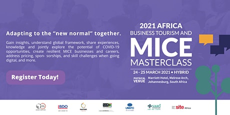 Africa Business Tourism and MICE Masterclass tickets