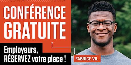 Conférence gratuite de Fabrice Vil dans le cadre du Gala Diversité 2021 billets