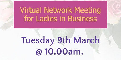 Rural Ladies in Business - March 21 Event tickets