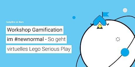 CoM #28: Workshop Gamification – So geht virtuelles Lego Serious Play Tickets