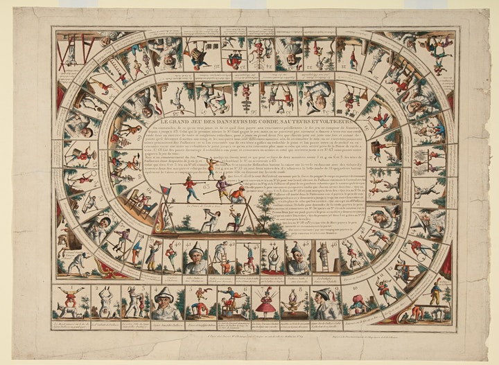 Timeless play: Board games of the 18th and 19th century image