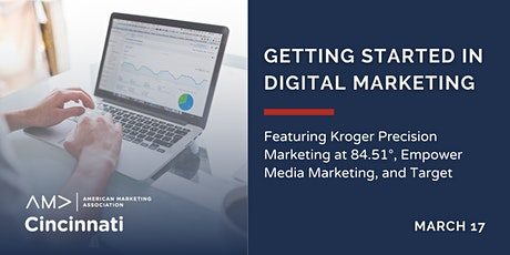 Getting Started In Digital Marketing tickets