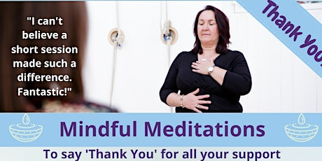Lunchtime Mindful Meditation- Thank You tickets