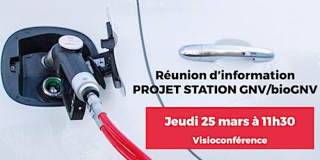 Projet Station GNV/bioGNV billets