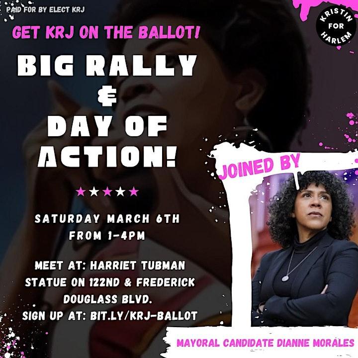 KRJ Rally & Big Day of Action image