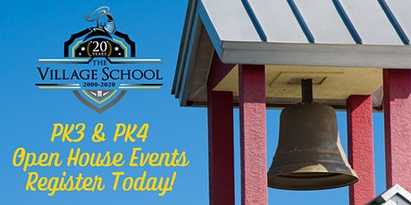 Early Childhood Education (PK3 & PK4) Open House Events tickets