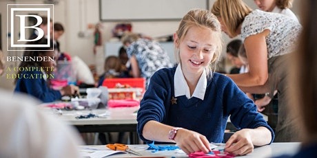 Benenden ONLINE Open Morning - Tuesday 23 March 2021 tickets