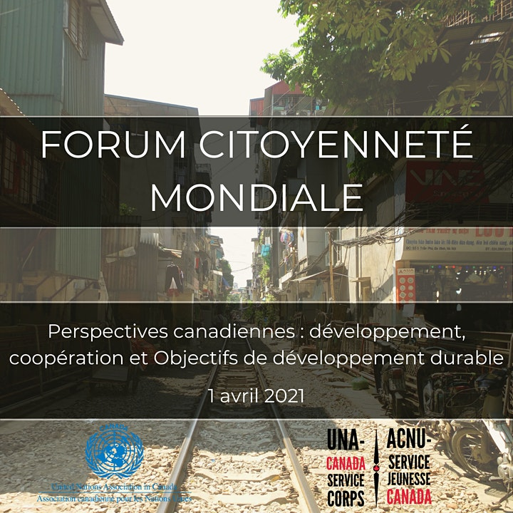 Forum citoyenneté mondiale - Troisième édition image