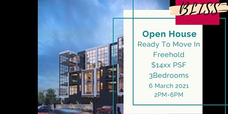 Open House | Freehold | Direct from developer | Kovan | Low PSF | TOP tickets