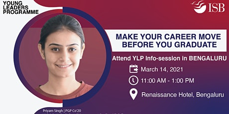 ISB Young Leaders Programme Info-session | Bengaluru (11 AM - 1 PM) tickets