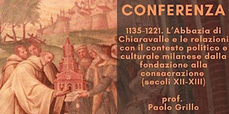 Conferenza Paolo Grillo biglietti