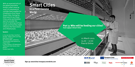Smart Cities Part 3: Who will be feeding our cities? tickets