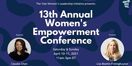 Yale WLI's 13th Annual Women's Empowerment Conference tickets