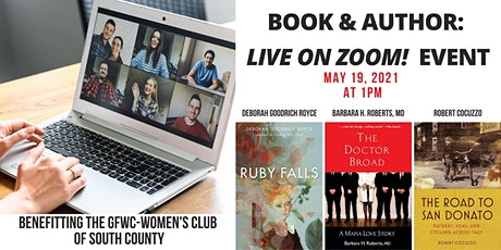 Book and Author Live on Zoom Event tickets