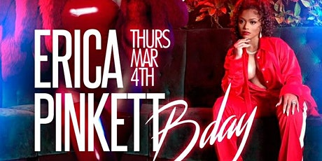 Erica Pinkett Takesover Baller's Weekend @ Rose Bar/SOGA ENTERTAINMENT/3 tickets