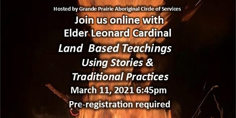 Land-Based Teaching Using Stories and Traditional Practices tickets