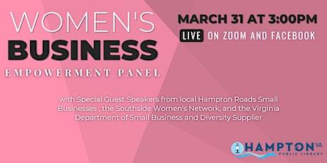 Women's Business Empowerment Panel tickets