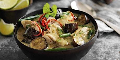 Livestream Online Cookery Class - Thai Green Curry tickets