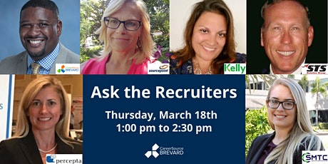 """Ask the Recruiters"" Q & A Panel Discussion tickets"