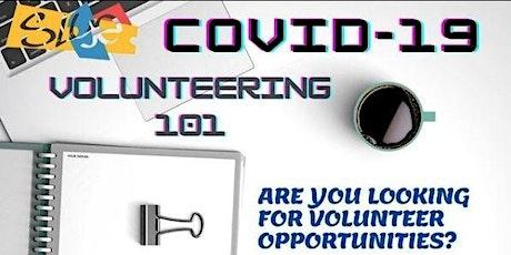 Online Roadshow: COVID-19 - Volunteering 101 tickets