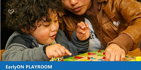 EarlyON Playroom - Monday afternoon tickets