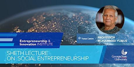 Sheth Lecture on Social Entrepreneurship: Prof. Muhammad Yunus tickets