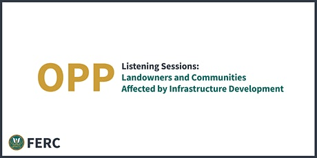 Landowners and Communities Affected by Infrastructure Development tickets