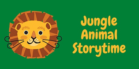 Jungle Animal Storytime at City Hall tickets