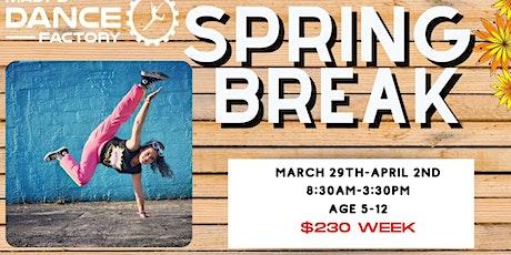 Spring Break Dance Camp tickets