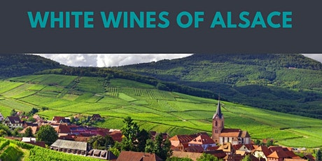 Online wine tasting - white wines from Alsace with Love Wine tickets