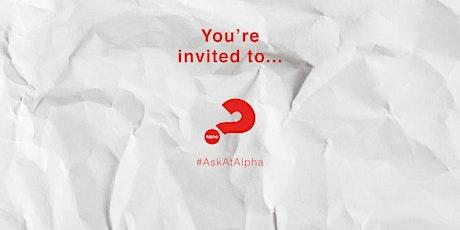 Alpha Online - North Berwick tickets
