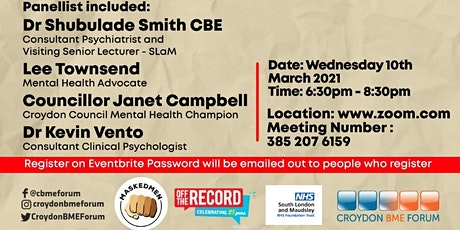 Let's Discuss: The Impact of COVID-19 on Mental Health and the Safety of it tickets