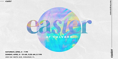 Easter at Calvary - Sunday 1PM Service tickets
