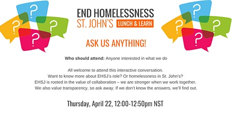 Lunch & Learn - Ask Us Anything! tickets
