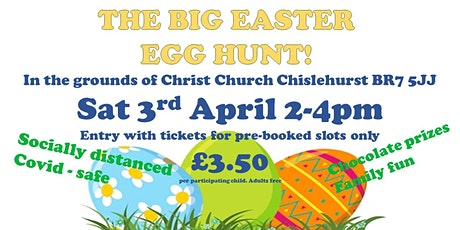 The Big Easter Egg Hunt tickets