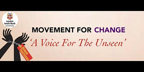 A Voice For The Unseen: Human Trafficking Awareness (Virtual Event) tickets
