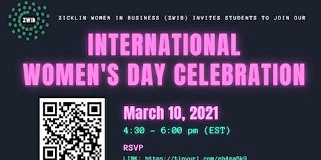 Zicklin Women in Business presents International Women's Day tickets