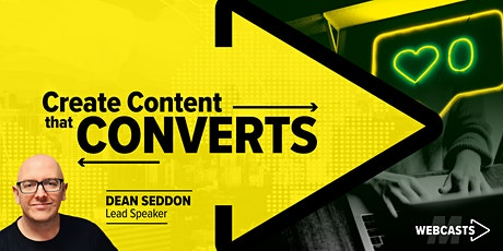 Create Content that Converts - Live Training tickets