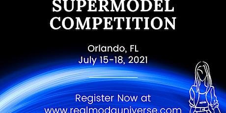 SUPER MODA Model International Modeling Competition tickets