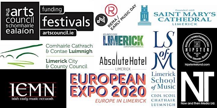 "2021 Limerick Early Music Festival Concert ""I Baci: The Kisses"" image"