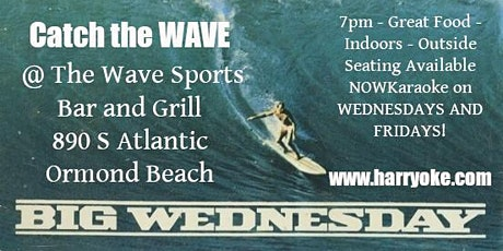 Wednesday Karaoke at The Wave Sports Bar and Grill tickets