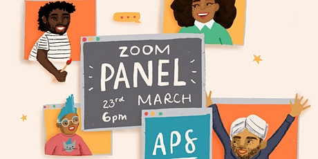 Black, Asian and Minoritized Ethnic Colouring Book Panel Discussion tickets