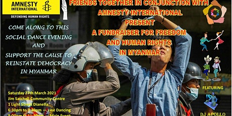 Fundraiser for Myanmar Human Rights tickets