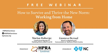 How to Survive and Thrive the New Norm: Working From Home tickets