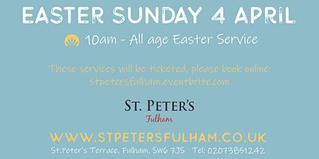 Easter Sunday service tickets
