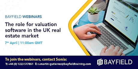 Property Webinar: The Role for Valuation Software in the UK RE Market tickets