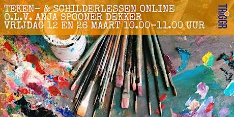 Teken- en schilderles volwassenen - Online tickets