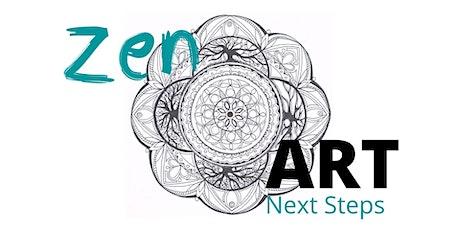 Zentangle 2 - Next Steps tickets